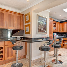 Transitional Kitchen by Colin Cadle Photography