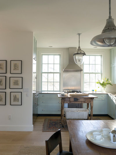 Eclectic Kitchen by Hendricks Churchill