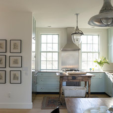 Eclectic Kitchen by PW Vintage Lighting