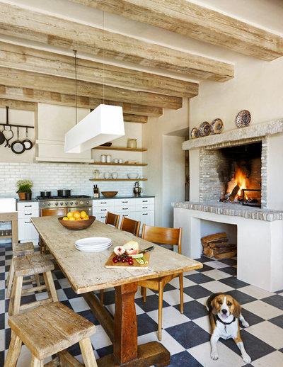 27 id es d co qui font le charme des cuisines campagne for Amenagement cuisine provencale