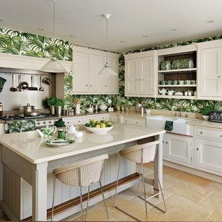 World-inspired kitchen in London.