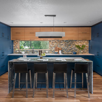 Pacific Blue Kitchen Remodel