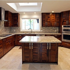 Traditional Kitchen by Cherry Construction, LLC