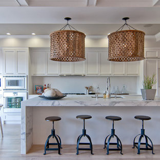 Contemporary kitchen inspiration - Kitchen - contemporary kitchen idea in San Francisco with shaker cabinets