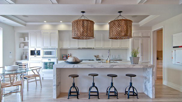 Contemporary Kitchen by Green Couch Interior Design