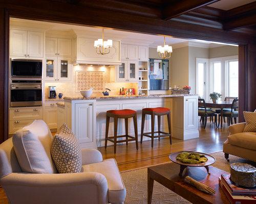 Open Concept Kitchen Island Houzz