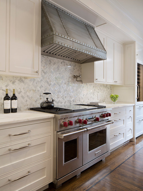 herringbone tile backsplash houzz