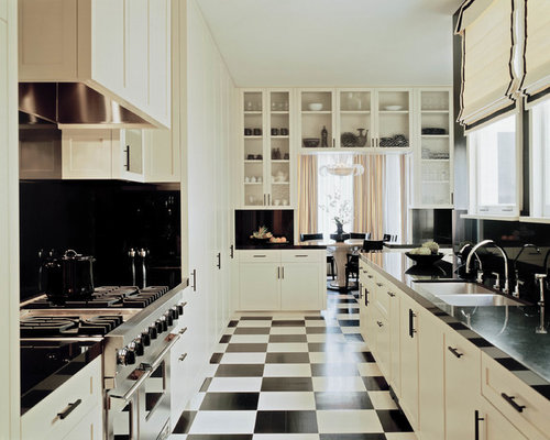 traditional cream kitchen ideas with Black And White Floor on Quick Pavlova as well Traditional Road Runner Chicken Stew furthermore Interior in addition Black And White Floor also Plan For Double Sink Bathroom Vanity.