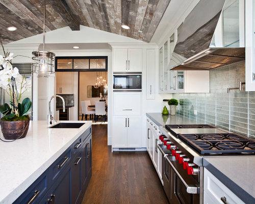 Fireplace Red Ralph Lauren Kitchen Design Ideas Remodels Photos