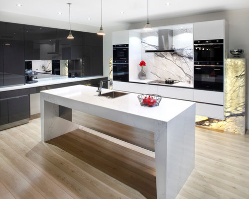 Padstow showroom contemporary kitchen for Kitchen showrooms sydney west
