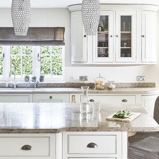 Ideas para cocinas | Fotos de cocinas comedor con encimera de piedra ...
