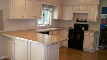 Paint and glaze Kitchen Renovation