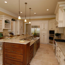 Traditional Kitchen by Cabinet Connections
