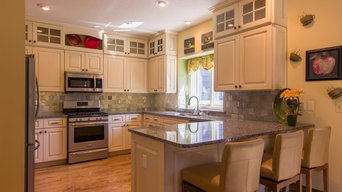 Painted Cabinet Kitchen Remodel