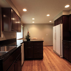 Contemporary Kitchen by Double J Construction Inc