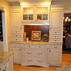 painted kitchen cabinet linden ave home renovation traditional kitchen 1380