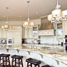 Traditional Kitchen by Venuti Woodworking