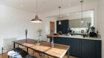 Painted In-Frame Kitchen (Farrow & Ball Hague Blue)