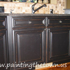 Mediterranean Kitchen by Painting the Town, Inc.