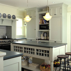 traditional kitchen by Kenzer Furniture