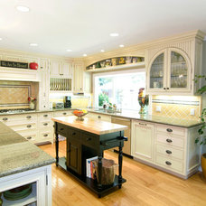 Farmhouse Kitchen by Michael Meyer Fine Woodworking