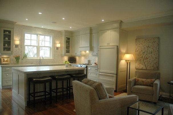 Eclectic Kitchen by Style de Vie Design