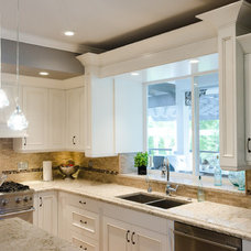 Traditional Kitchen by Nickels Custom Cabinets