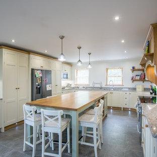 Painted modern Ffarmhouse kitchen