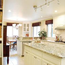 Traditional Kitchen by Jennifer Bishop Design