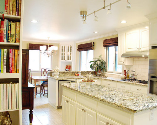 painted oak cabinets houzz