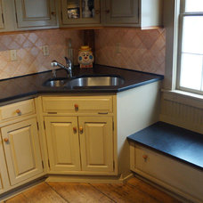 Rustic Kitchen by Amelia Cabinet Company