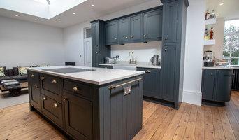 Painted Solid Oak In-Frame Kitchen - Bridgnorth
