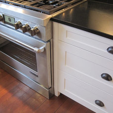 Traditional Kitchen Painted White Cabinet Remodel