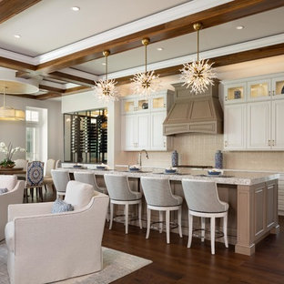Pala Residence with Neutral Design and Blue Accents