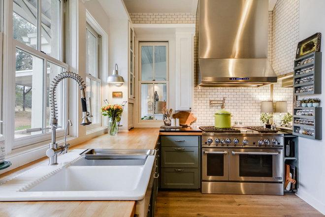 Farmhouse Kitchen by Van Wicklen Design