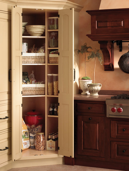 Full Wall Pantry Home Design Ideas Pictures Remodel And