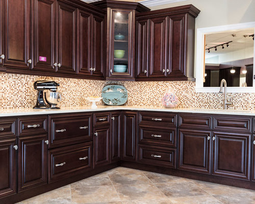 Chocolate Kitchen Cabinet Home Design Ideas, Pictures, Remodel and Decor
