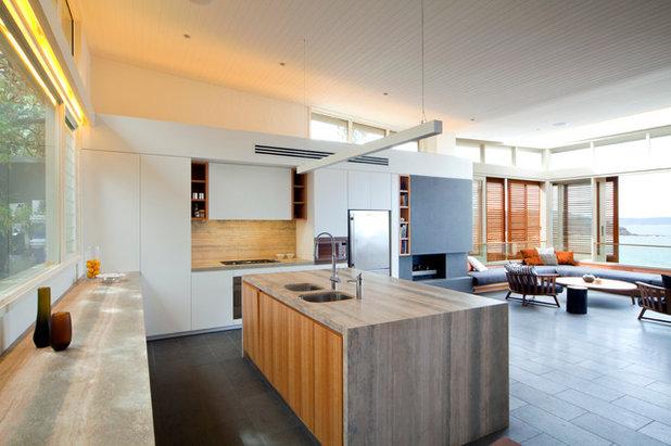 Contemporáneo Cocina by justin long design