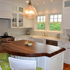 Tropical Kitchen by Vintage Building and Design