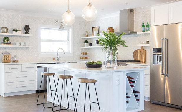 Beach Style Kitchen by Baylee Deyon Design