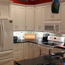 Contemporary Kitchen by Home Design Center of Florida