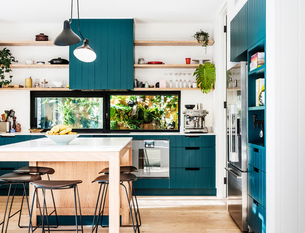 Contemporary Kitchen by Kate Mountstephens Architecture+Heritage