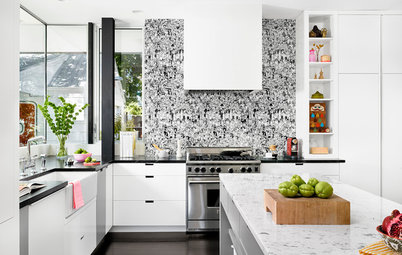 10 Creative Kitchen Backsplashes