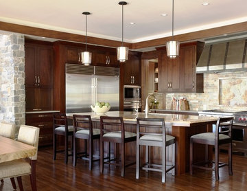 Palmer Pointe Road Residence Kitchen