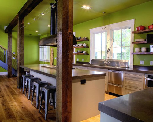 Kitchen Island Ideas With Support Posts kitchen island posts. trendy post and beam lighting rustic kitchen