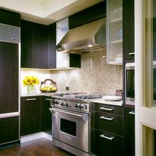 Transitional Kitchen by GATH Interior Design
