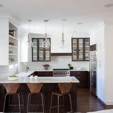 Transitional Kitchen by Fiorella Design