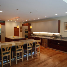 Contemporary Kitchen by M. Designs Architects