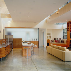 contemporary kitchen by Drew Maran Construction