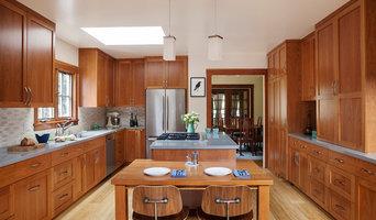 Palo Alto Full Overlay Craftsman Kitchen
